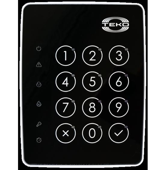 Астра-КТМ-С (Планар) черная - Клавиатура сенсорная