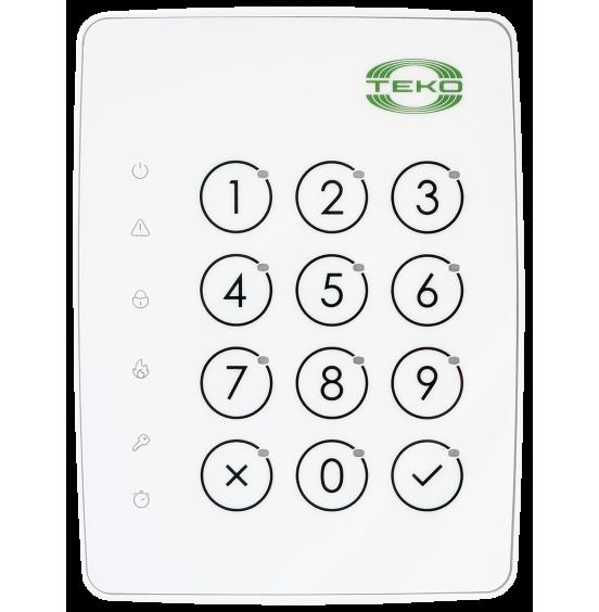 Астра-КТМ-С (Планар) белая - Клавиатура сенсорная